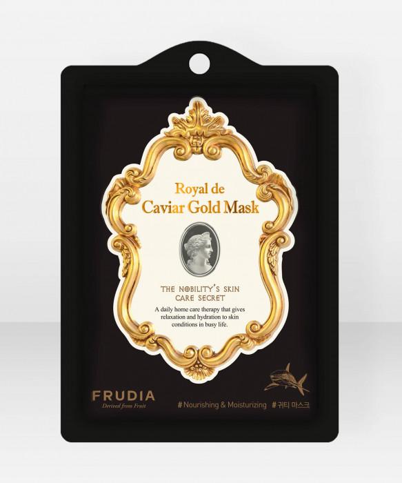Frudia Royal de Caviar Gold Sheet Mask kasvonaamio kangasnaamio