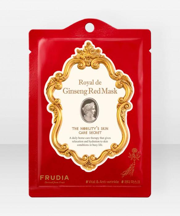 Frudia Royal De Ginseng Red Sheet Mask kasvonaamio kangasnaamio