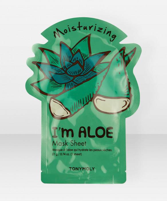 Tonymoly I Am Aloe Mask Sheet kangasnaamio kasvonaamio