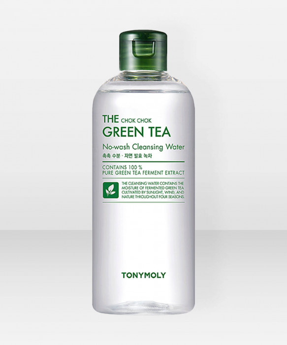 Tonymoly The Chok Chok Green Tea Cleansing Water 300ml puhdistusvesi kasvovesi