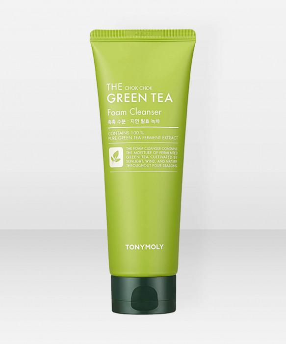 Tonymoly The Chok Chok Green Tea Foam Cleanser 200ml puhdistusvaahto