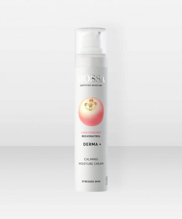 Mossa DERMA+ Calming Day Cream 50ml kasvovoide päivävoide kosteusvoide