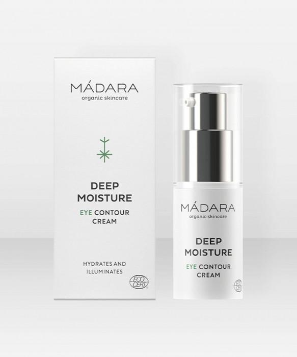 Mádara Deep Moisture Eye Contour Cream 50ml silmänympärysvoide