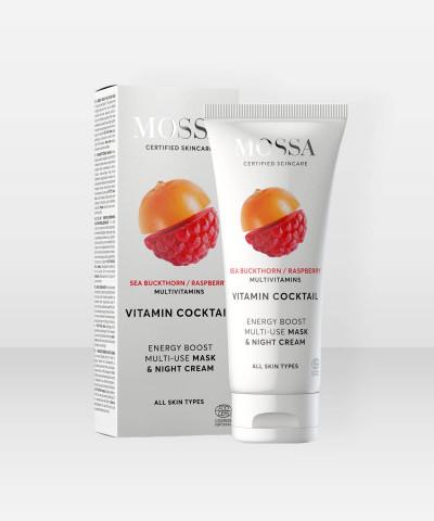MOSSA Vitamin Cocktail Mask & Night Cream 60ml