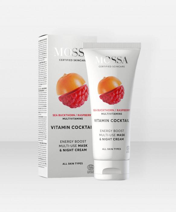 MOSSA Vitamin Cocktail Mask & Night Cream 60ml yönaamio yövoide