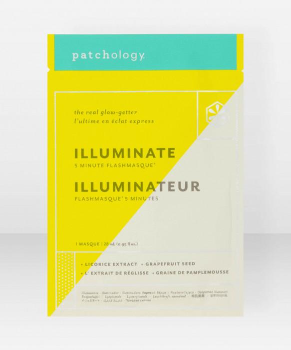 Patchology FlashMasque Illuminate Sheet mask kangasnaamio kasvonaamio
