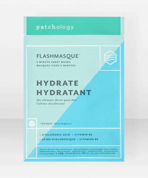 Patchology FlashMasque Hydrate Sheet Mask kangasnaamio  kasvonaamio