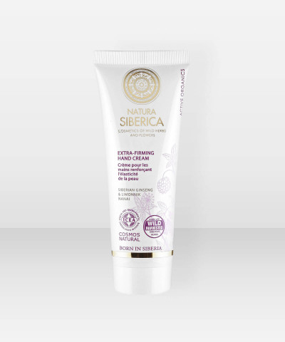 Natura Siberica  ExtraFirming Hand Cream Cosmos(ICEA) 75ml