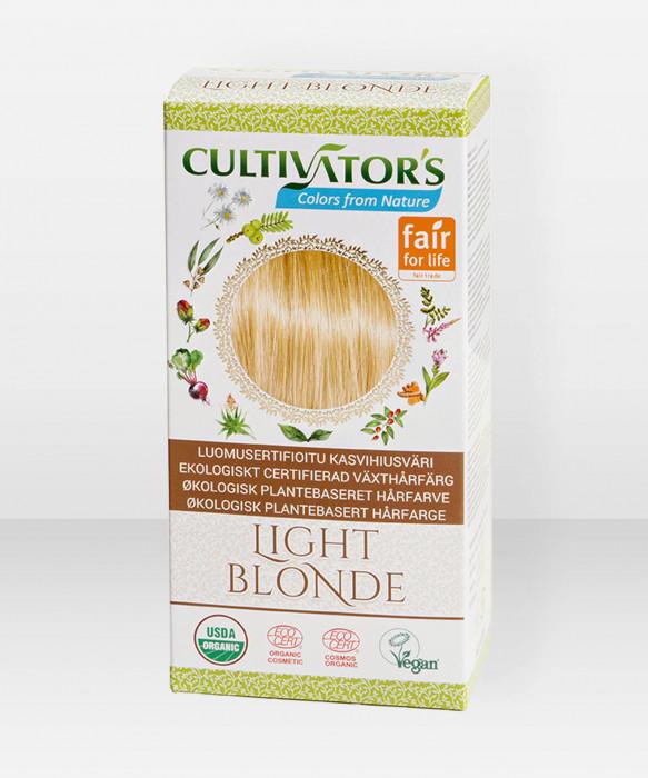 Cultivator's Hair Color Light Blonde 100g kasviperäinen hiusväri