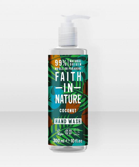 Faith in Nature Hand Wash Coconut käsisaippua