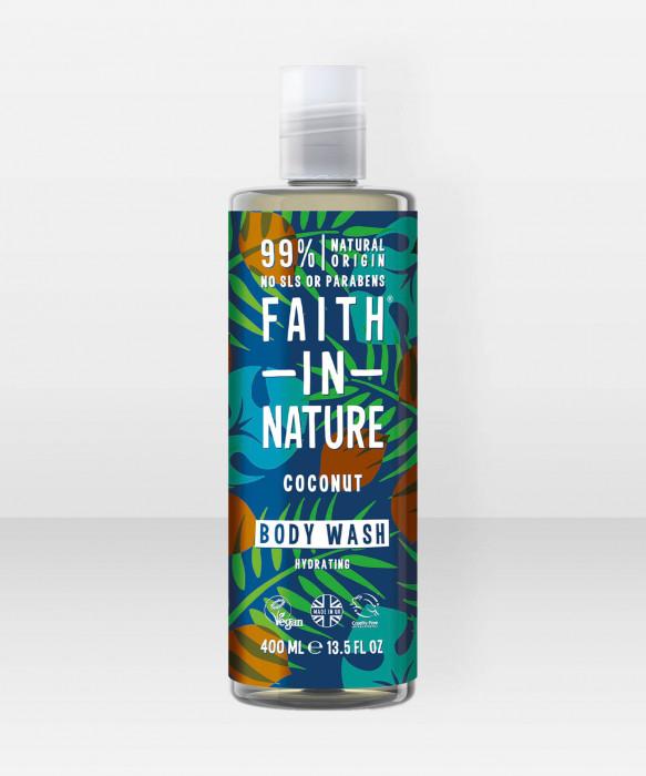 Faith in Nature Body Wash Coconut suihkusaippua