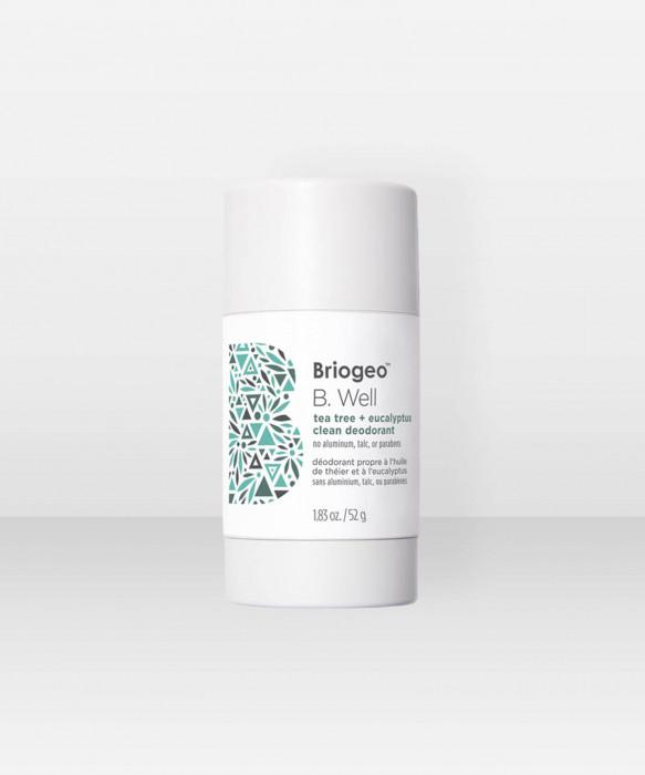 Briogeo B. Well Tea Tree and Eucalyptus Clean Deodorant 52g