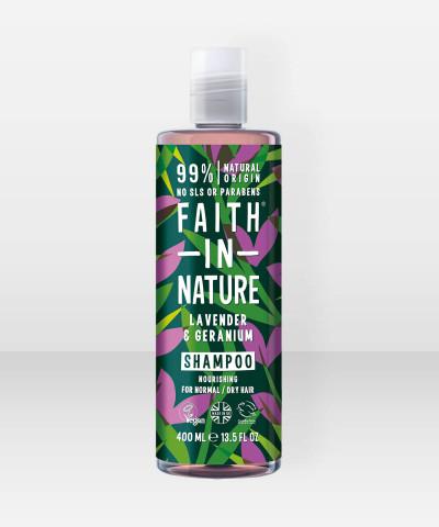 Faith in Nature Shampoo Lavender & Geranium 400ml