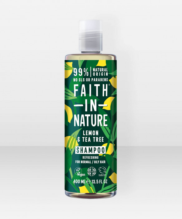 Faith in Nature Shampoo Lemon & Tea Tree shampoo