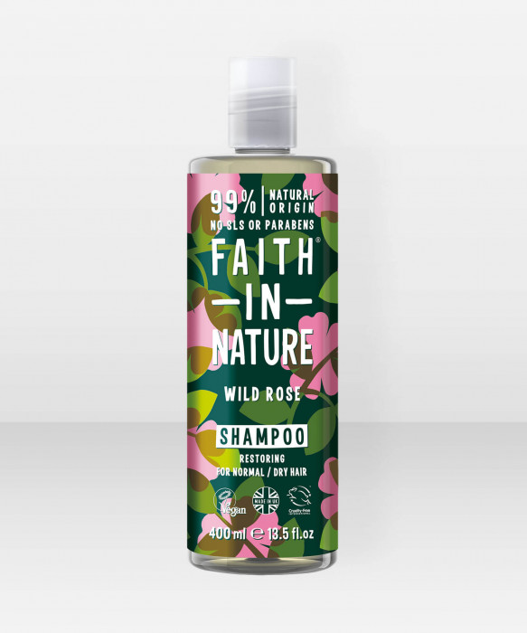 Faith in Nature Shampoo Wild Rose shampoo