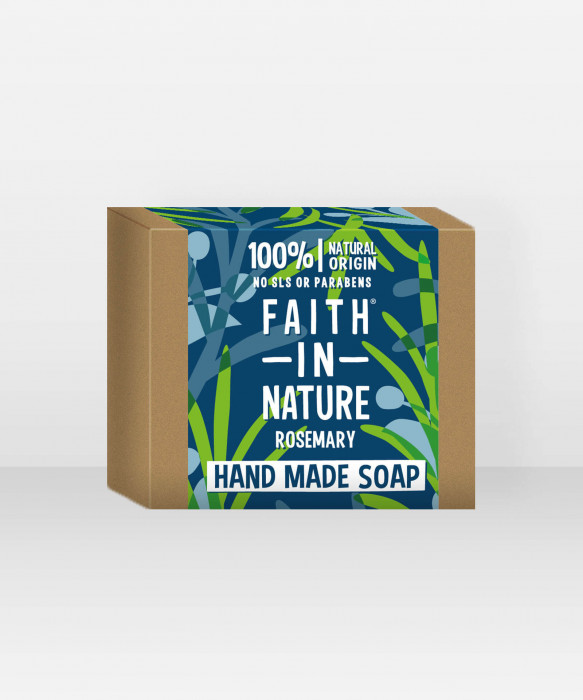 Faith in Nature Soap Rosemary palasaippua