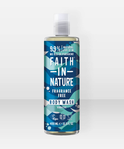 Faith in Nature Body Wash Fragrance Free 400ml