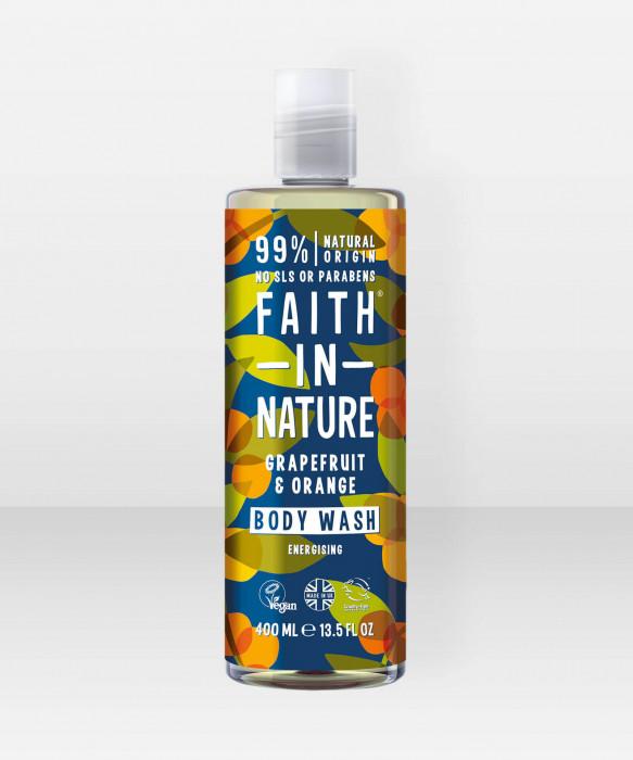 Faith in Nature Body Wash Grapefruit & Orange suihkusaippua