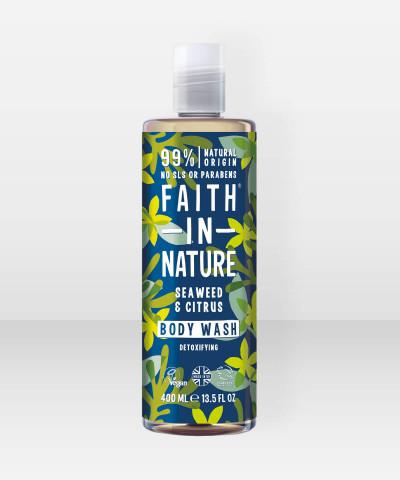 Faith in Nature Body Wash Seaweed & Citrus 400ml