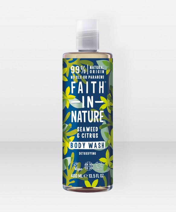 Faith in Nature Body Wash Seaweed & Citrus suihkusaippua
