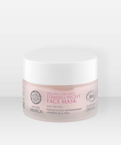 Natura Siberica Organic Certified Age-Defying Firming Night Face Mask 50ml