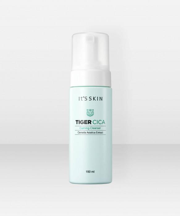 It'S Skin Tiger Cica Calming Cleanser 150ml puhdistusaine puhdistusvaahto