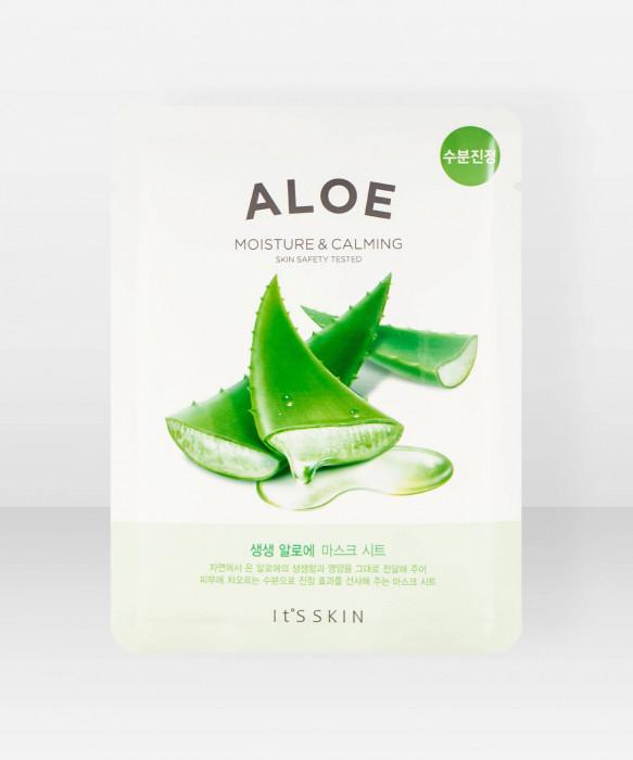 It'S Skin The Fresh Aloe Sheet Mask 18g kangasnaamio kasvonaamio