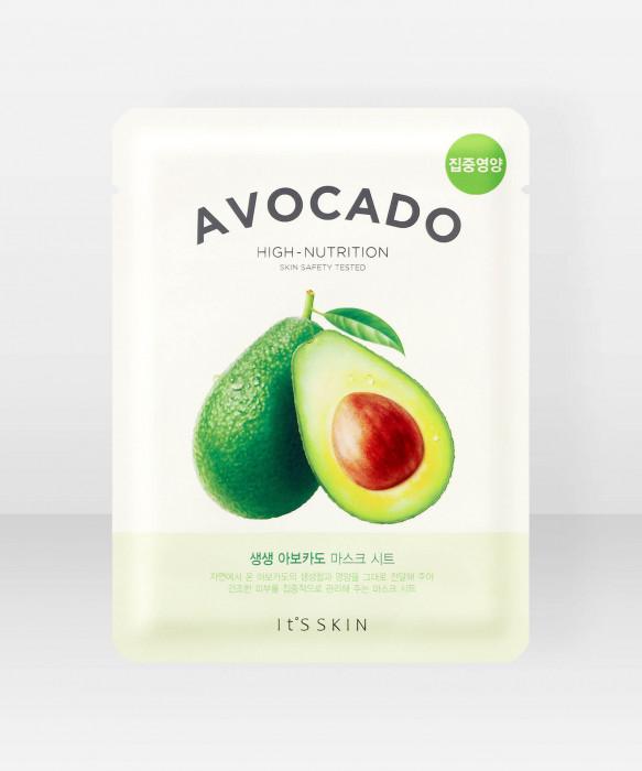 It'S Skin The Fresh Avocado Sheet Mask 21g kasvonaamio
