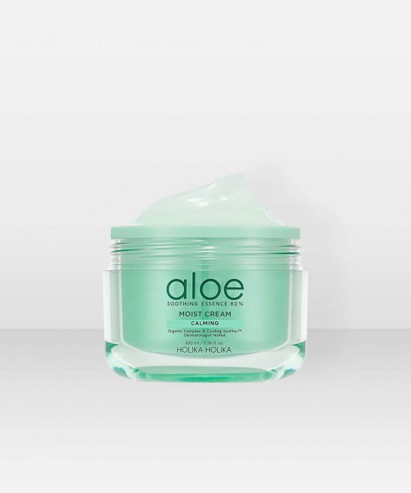 Holika Holika Aloe Soothing Essence 80% Moist Cream 100ml Kasvovoide