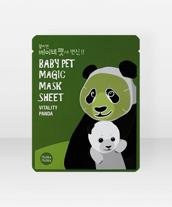 Holika Holika Baby Pet Magic Panda Sheet Mask 22ml kangasnaamio kasvonaamio