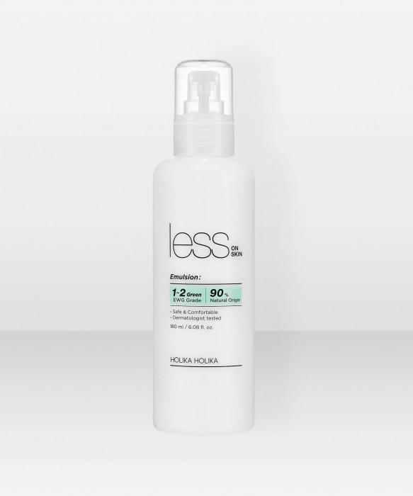 Holika Holika Less On Skin Emulsion 180ml kosteusvoide Emulsiovoide