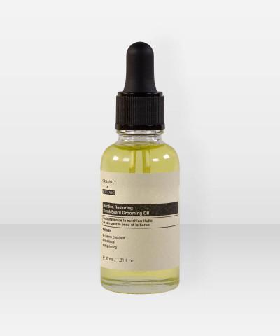 Organic & Botanic Men Nutrition Restoring Skin & Beard Grooming Oil 30ml