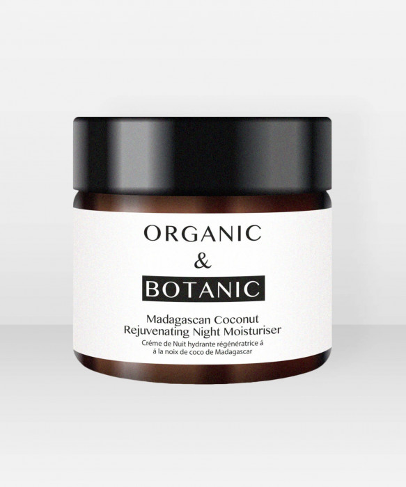 Organic & Botanic Madagascan Coconut Rejuvenating Night Moisturiser 50ml Yövoide
