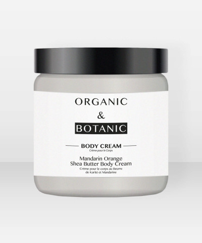 Organic & Botanic Mandarin Orange and Shea Butter Body Cream 100ml