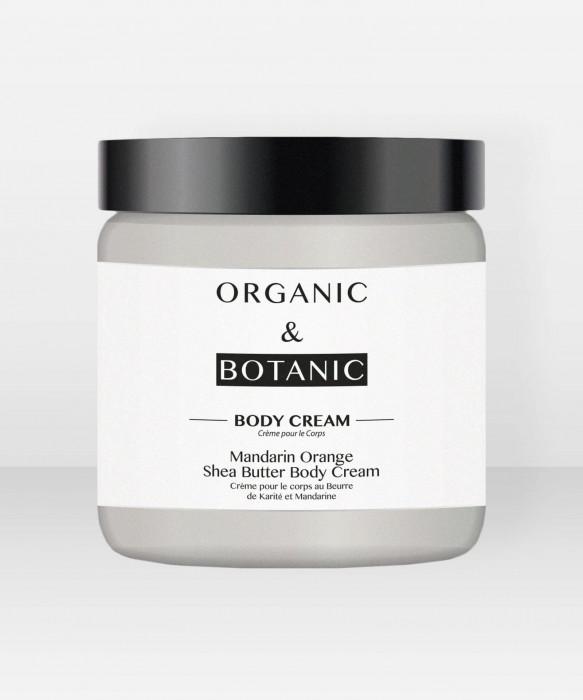 Organic & Botanic Mandarin Orange and Shea Butter Body Cream 100ml Vartalovoide