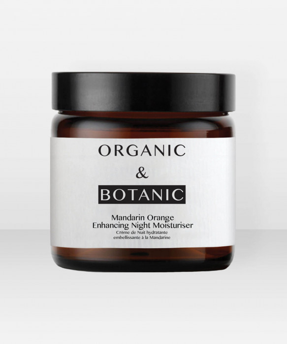 Organic & Botanic Mandarin Orange Enhancing Night Moisturiser 50ml yövoide