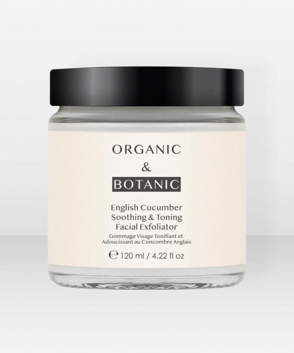 Organic & Botanic English Cucumber Soothing & Toning Facial Exfoliator 200ml kasvokuorinta
