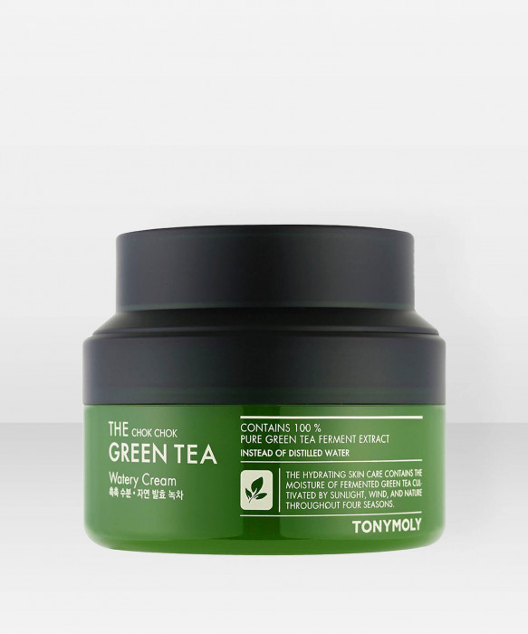 Tonymoly The Chok Chok Green Tea Watery Cream 60ml kasvovoide