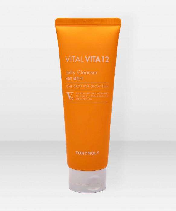 Tonymoly Vital Vita 12 Jelly Cleanser 150ml puhdistusaine