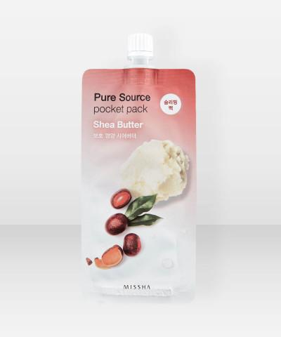 Missha Pure Source Shea Butter Pocket Pack 10ml