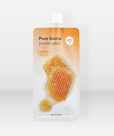Missha Pure Source Honey Pocket Pack 10ml