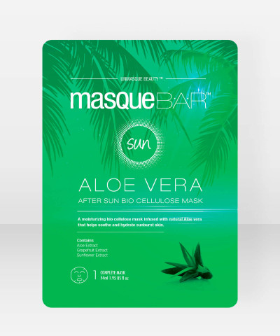 Masque Bar Aloe Vera After Sun Bio Cellulose Mask