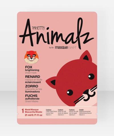 Pretty Animalz by Masque Bar Fox Brightening Sheet Mask