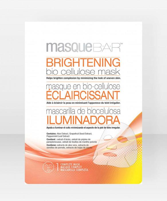 Masque Bar Brightening Bio Cellulose Mask kangasnaamio kasvonaamio