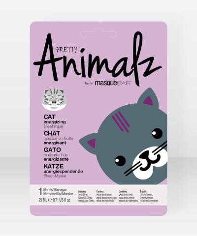 Pretty Animalz by Masque Bar Cat Energizing Sheet Mask