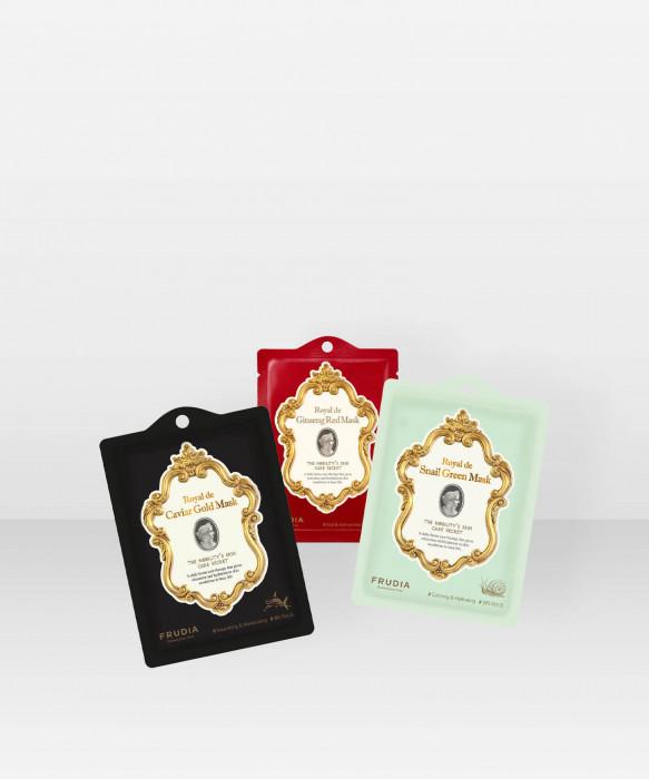 Frudia Royal Sheet Masks Set kangasnaamiosetti setti kangasnaamiot