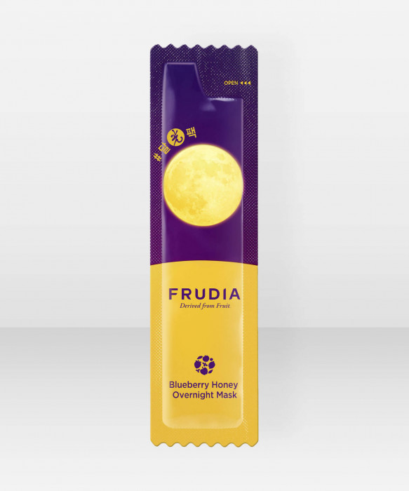 Frudia Blueberry Honey Overnight Mask 5ml yönaamio kasvonaamio