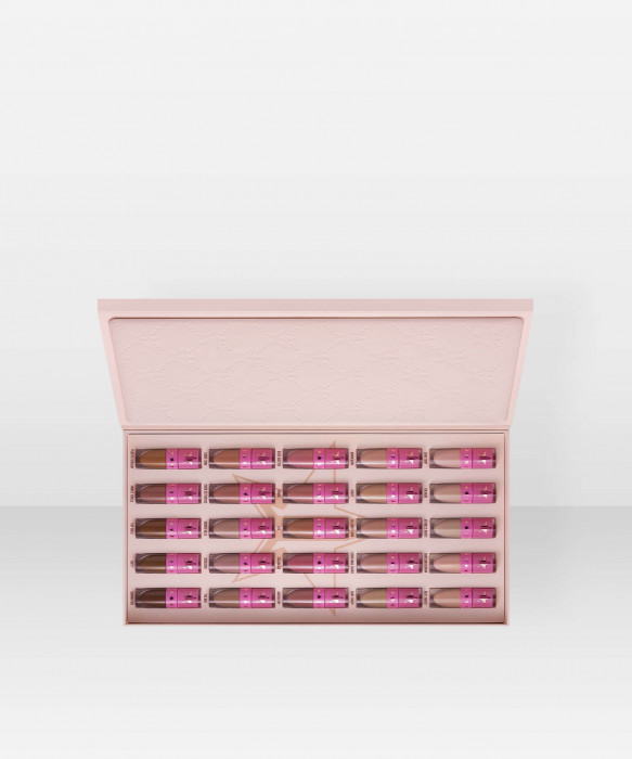 Jeffree Star Cosmetics Nude Liquid Lipstick Vault nestemäinen huulipuna huulipunasetti kokoelma