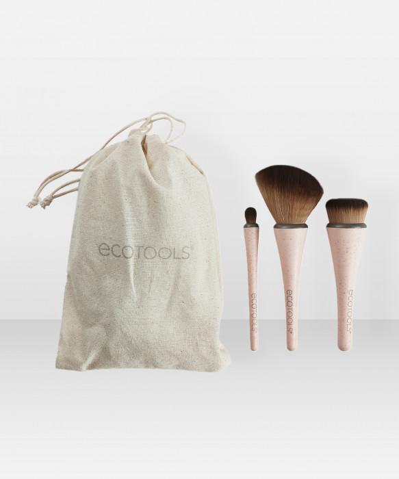 Ecotools 360° Ultimate Travel Brush Kit pakkaus sivellinsetti
