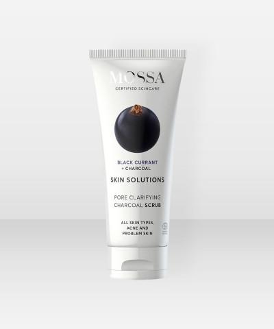 MOSSA Skin Solutions Charcoal Scrub 60ml